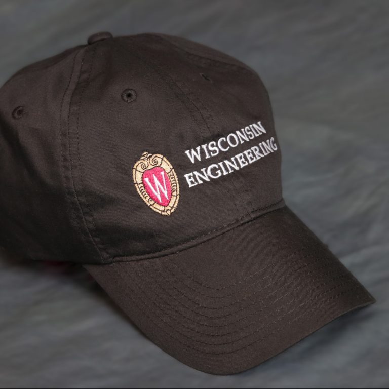 College of Engineering cap in black
