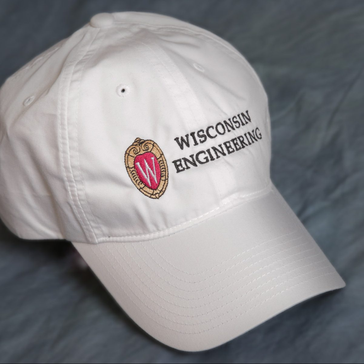 College of Engineering cap in white